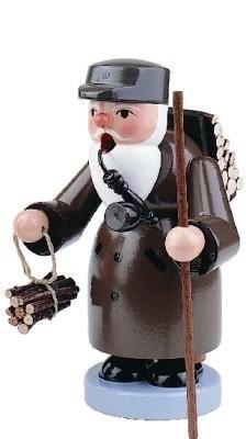 Räuchermann holzsammler 16cm