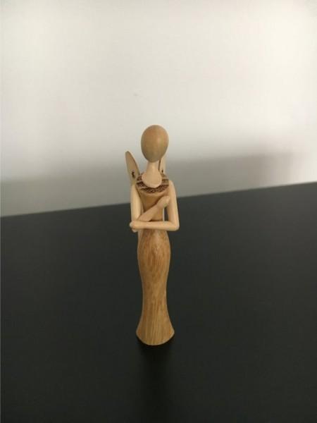 Engel Sternkopf aus Robinie