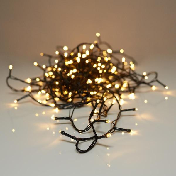Aussen Weihnachts LED Lichterkette 57m 720 LED Warmweiss